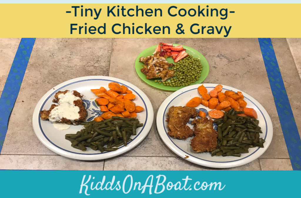 Tiny Kitchen Cooking- Fried Chicken & Gravy
